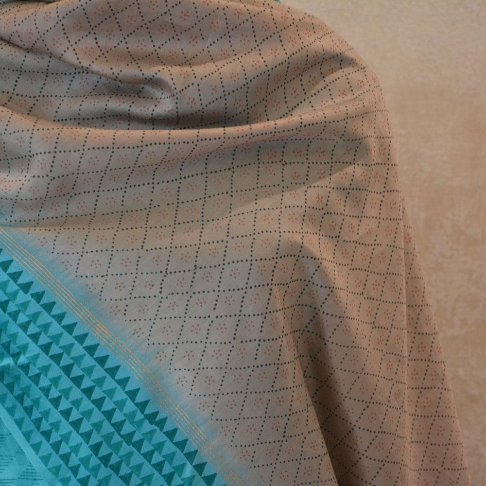 silk chanderi